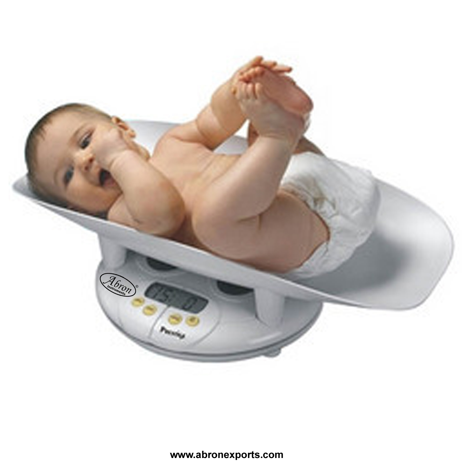 Digital baby scale..