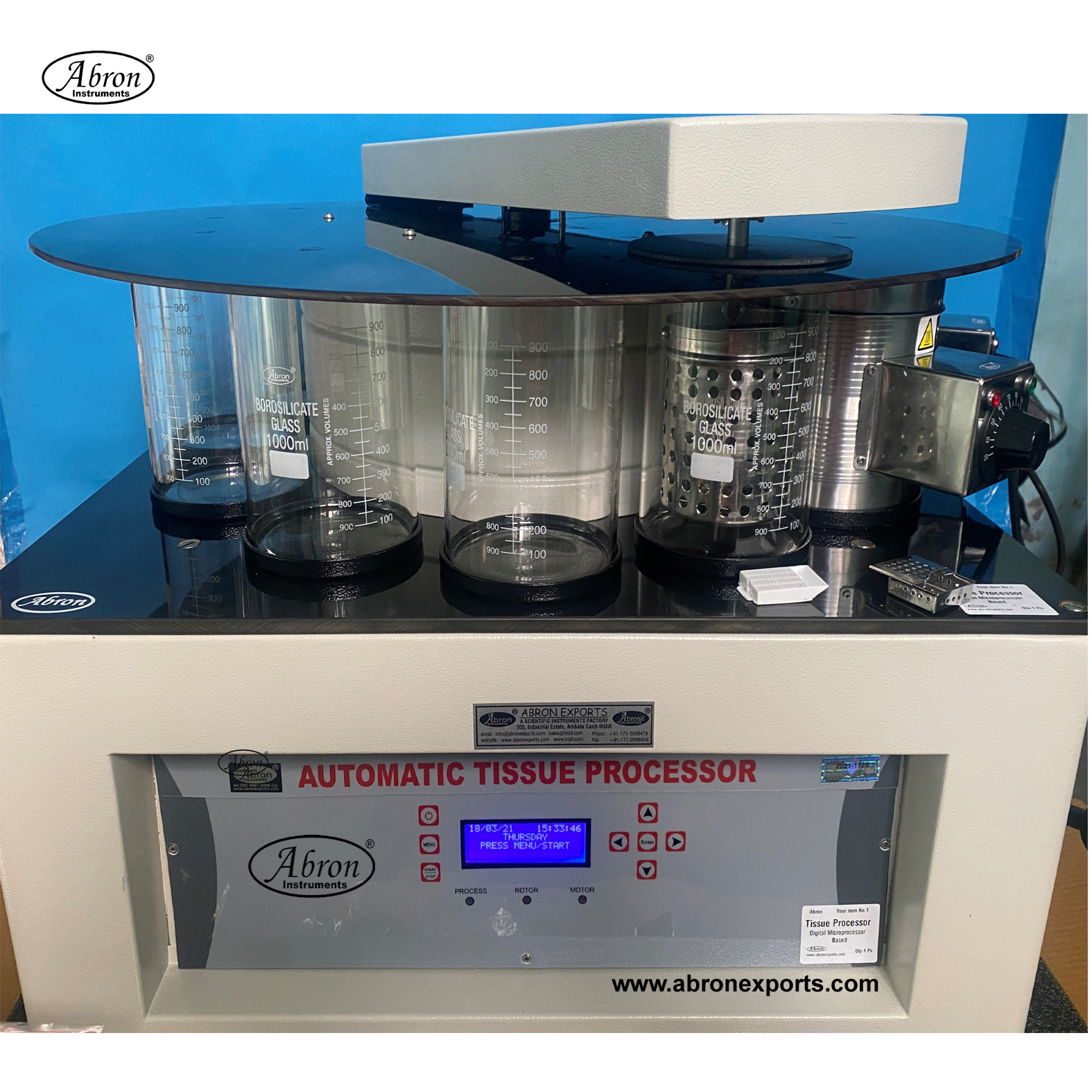 Tissue Processor Disc Calibrated for 24 hrs