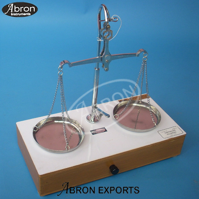 Balance Dispensing double pan lever lift 100gm x 15mg folding on box Insect abron