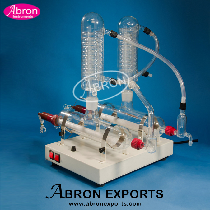 Distillation apparat..