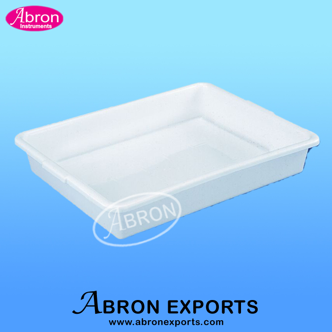Laboratory tray poly..