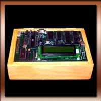 Microprocessor 8051 Microcontroller Training Kit with LCD Display