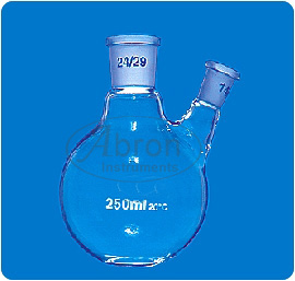 Round bottom flask b..
