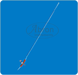 Burette with pinch c..