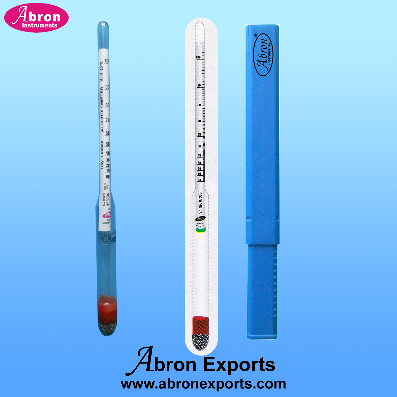 Hydrometer alcohol a..