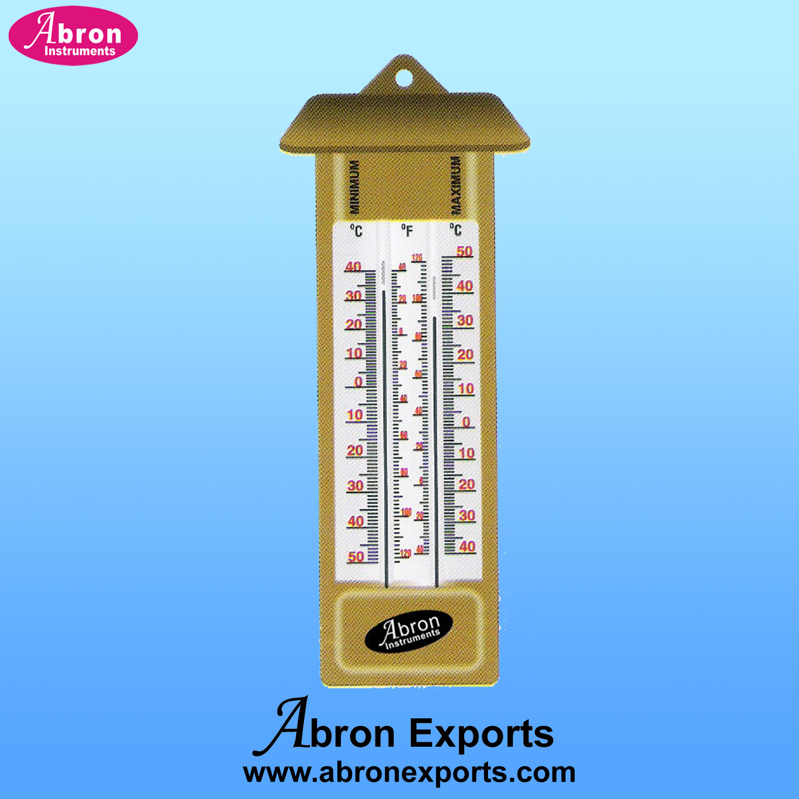 Thermometers minimum..