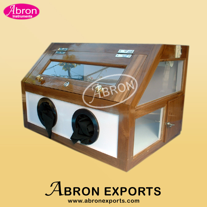 UV Cabinet Short and Long Wave with hand-window abron APH-265-1B