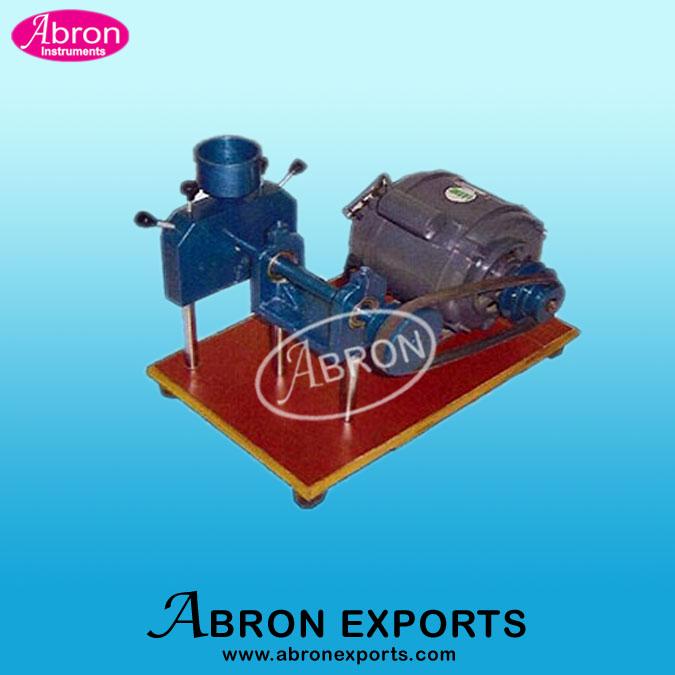 Disintegrator Test pulverizer Motorised Small Abron