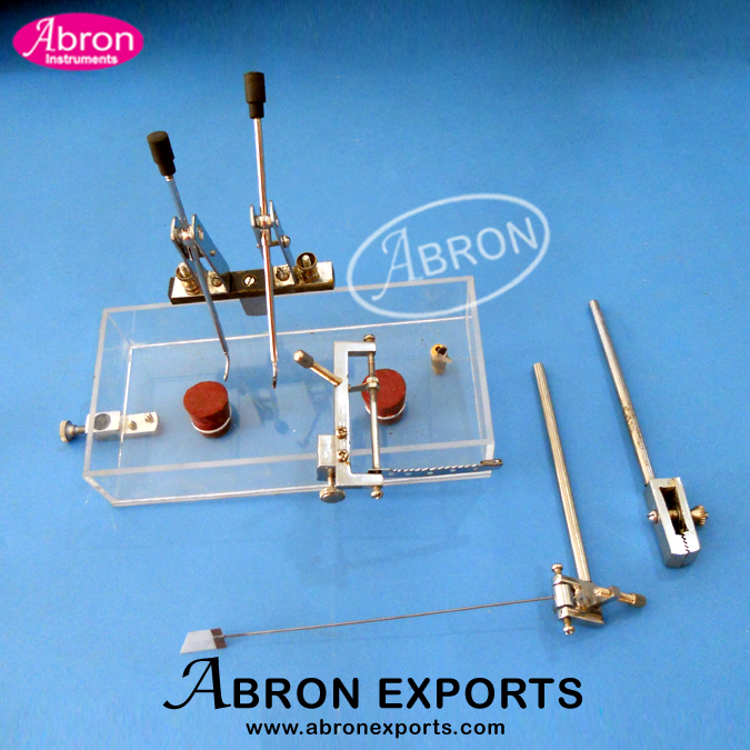 Kymograph Part Heart chamber with heart lever and electrodes Abron APH-2550-20