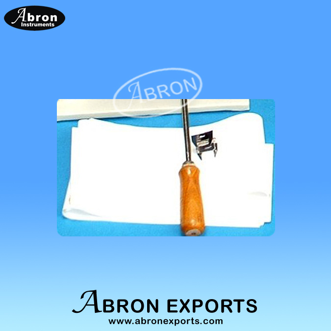 Kymograph Part paper sheet for recording drum Pk of 25 Abron APH-2550-23P