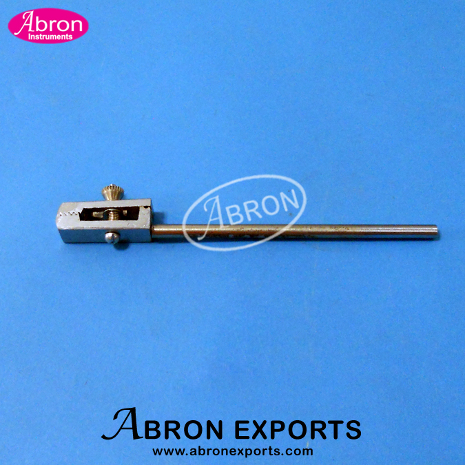 Kymograph Part Double clamps (for x block brass) Abron APH-2550-35