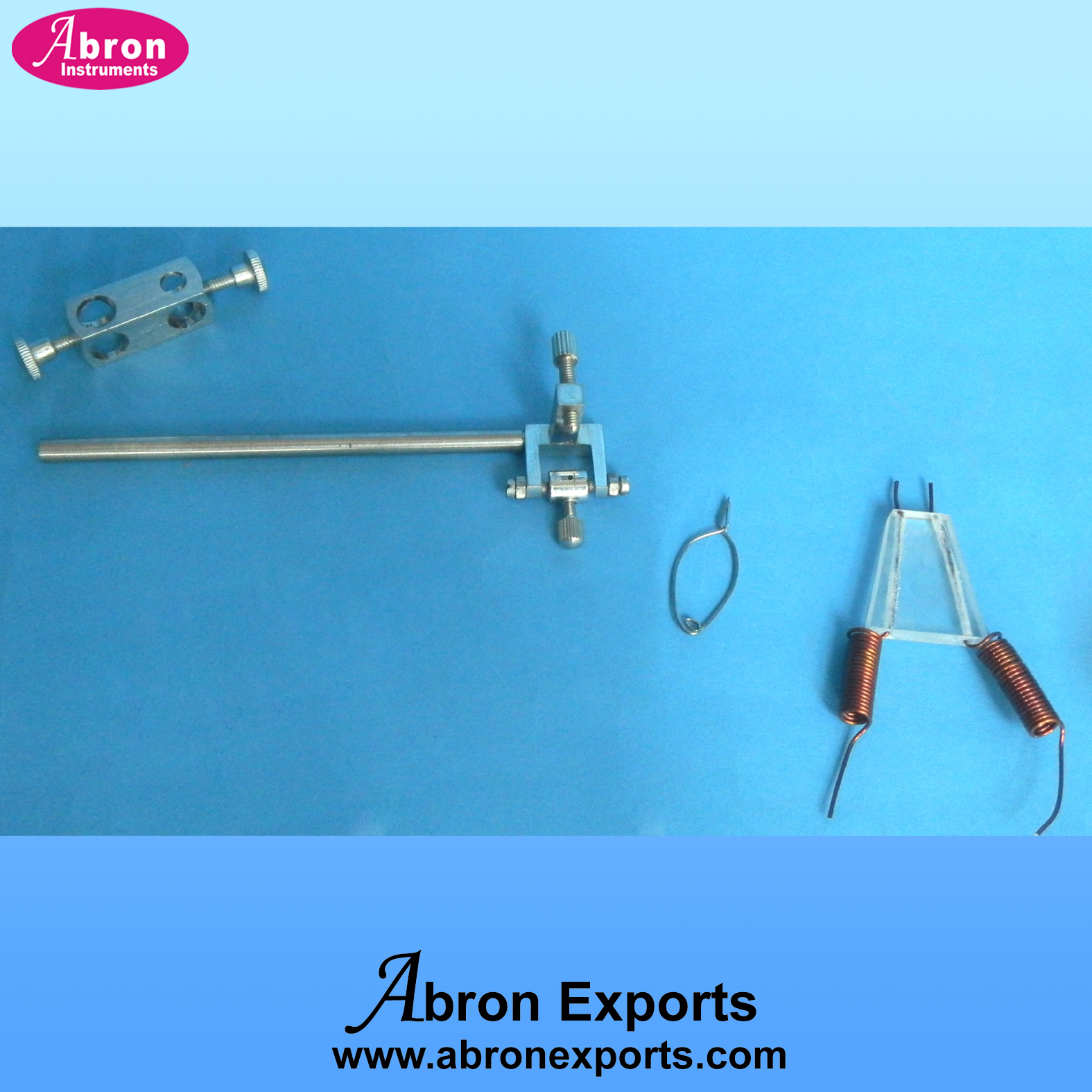 kymograph stilumator probe clamp arrow x block heary clips abron APH-2550-35B