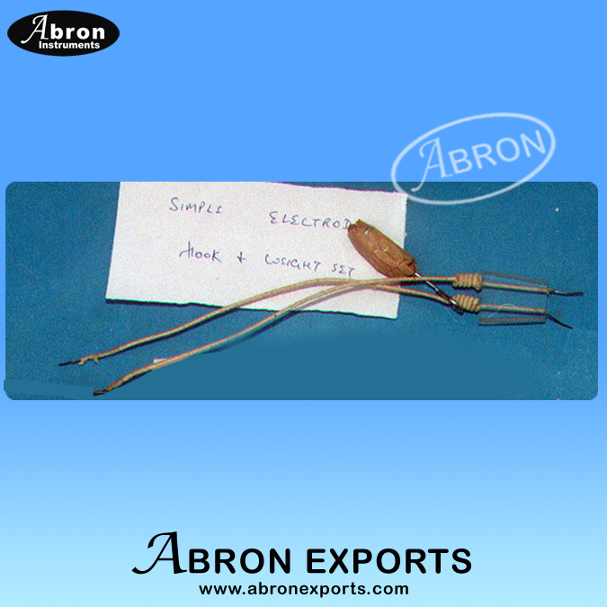 Kymograph Part heart Electrode with copper wire Abron APH-2550-41