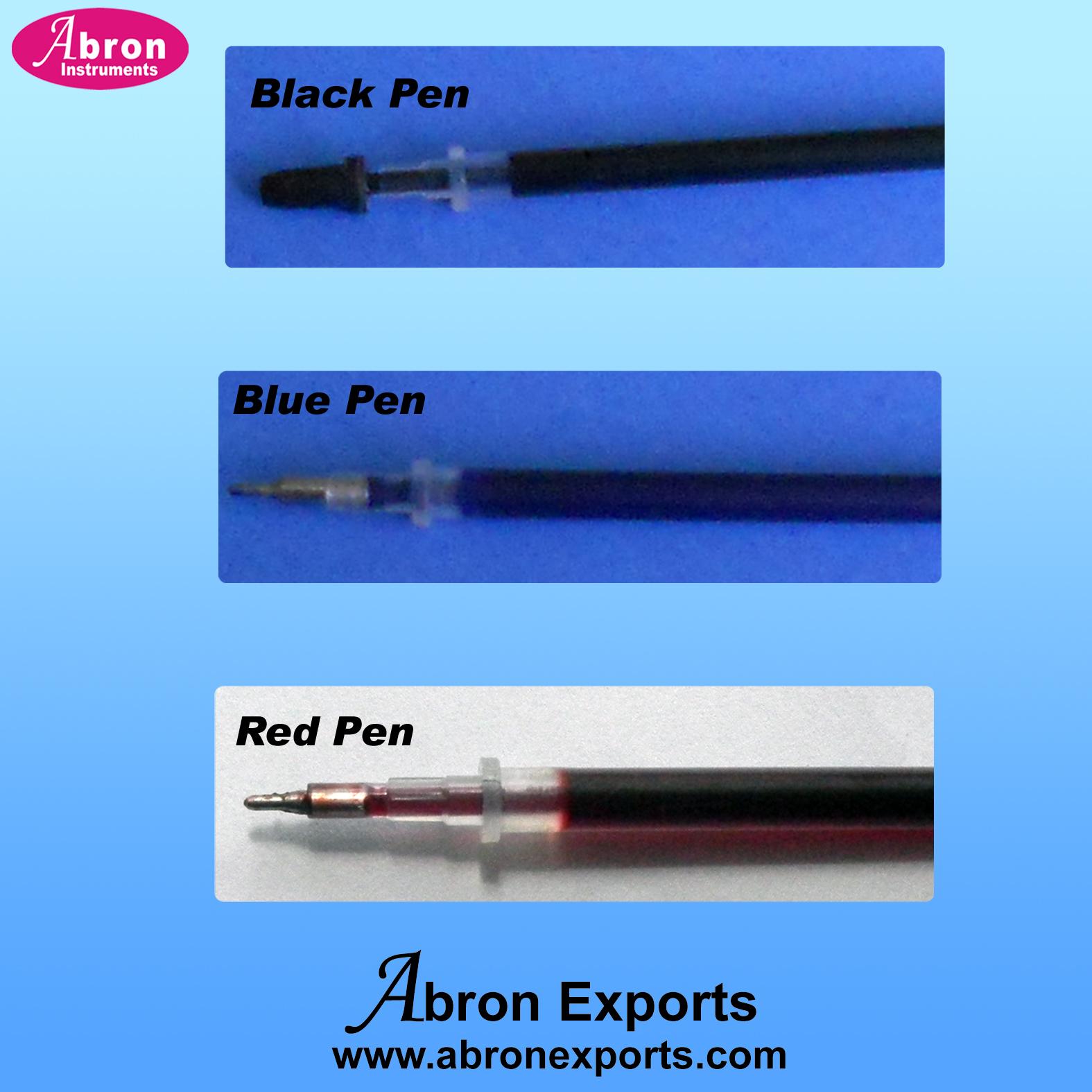 kymograph part abron ink pen black blue red APH-2550-72P