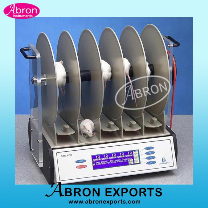 Rota Rod Digital 5 Compartments Rotameter Abron