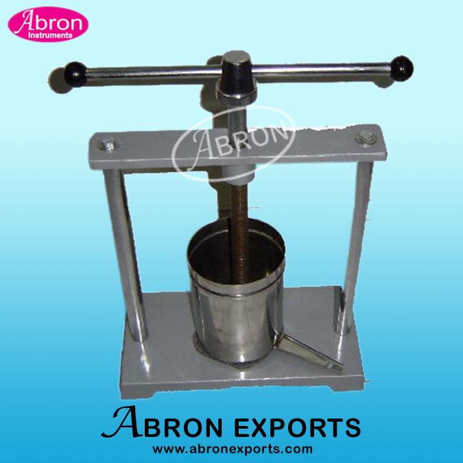 Tincture Press big  Abron