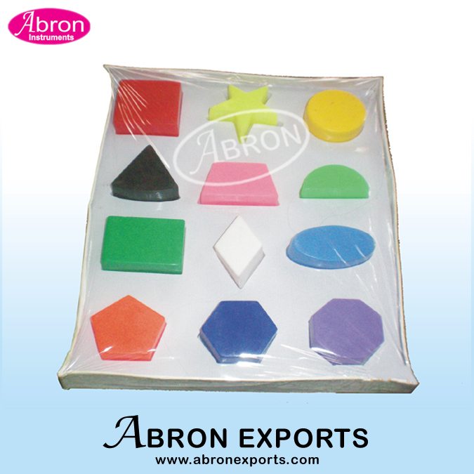 Shapes sorter moulds..