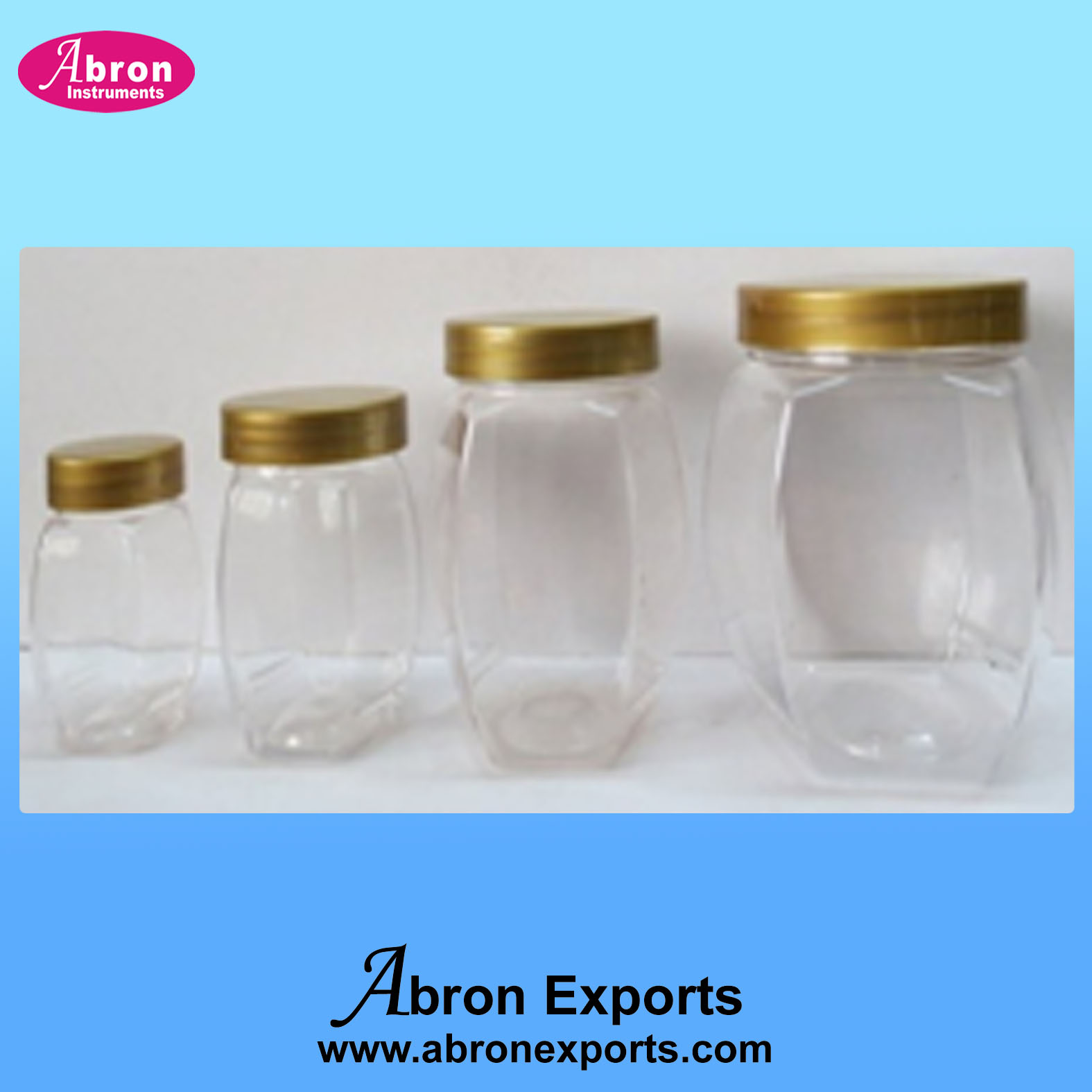 1kg Honey Packing Wide Mouth jar Abron AT-9516-200-500