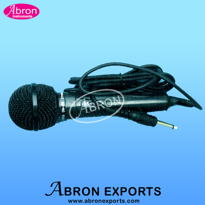 Microphone crystal f..